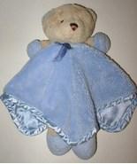 Carter Blue Teddy Bear Security Blanket Legs Fe... - $5.98