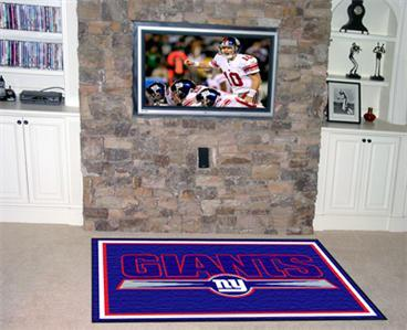 NY NEW YORK GIANTS NFL FOOTBALL TEAM AREA RUG GAME MAT