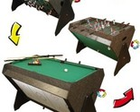 Buy air hockey table - FOOSBALL AIR HOCKEY BILLIARD POOL BALL GAME ROOM TABLE