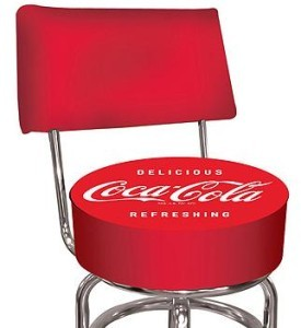 DELICIOUS REFRESHING COCA COLA SEAT COKE BAR STOOL