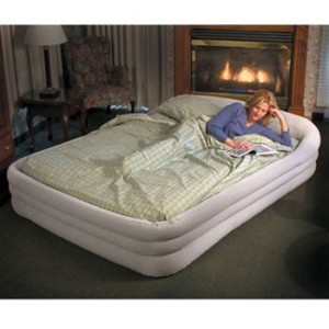 INTEX INFLATABLE SUPREME QUEEN AIR BED MATTRESS PUMP