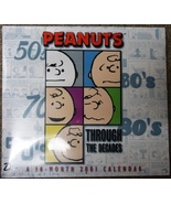 Peanuts Snoopy 2001 Throughout the Decades wall... - $4.99