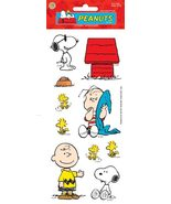 Peanuts Snoopy scrapbook sticker sheet - Sandyl... - $1.25