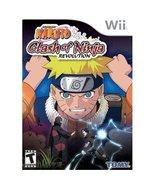 Naruto Clash of Ninja Revolution Nintendo Wii V... - $15.99