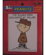 Peanuts Charlie Brown window cling