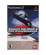 Shaun Palmers Pro Snowboarder PS2 Playstation G... - $6.59