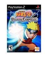 Naruto Uzumaki Chronicles PS2 Playstation Game ... - $8.98