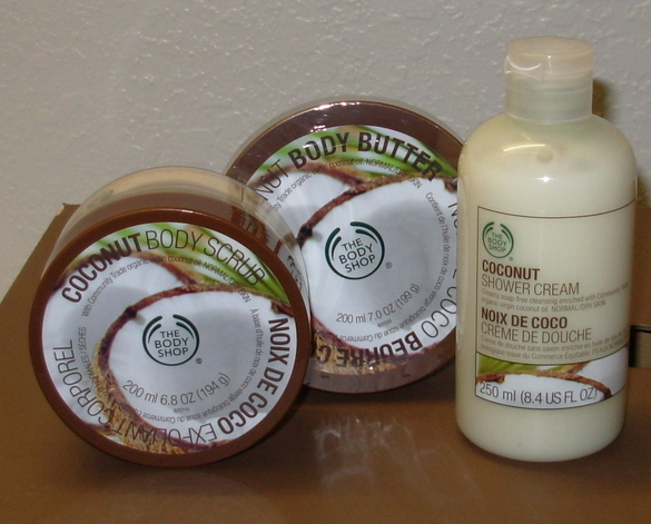Buy The Body Shop Body Lotion - The Body Shop Coconut Body Butter, Scrub, and Shower Cream