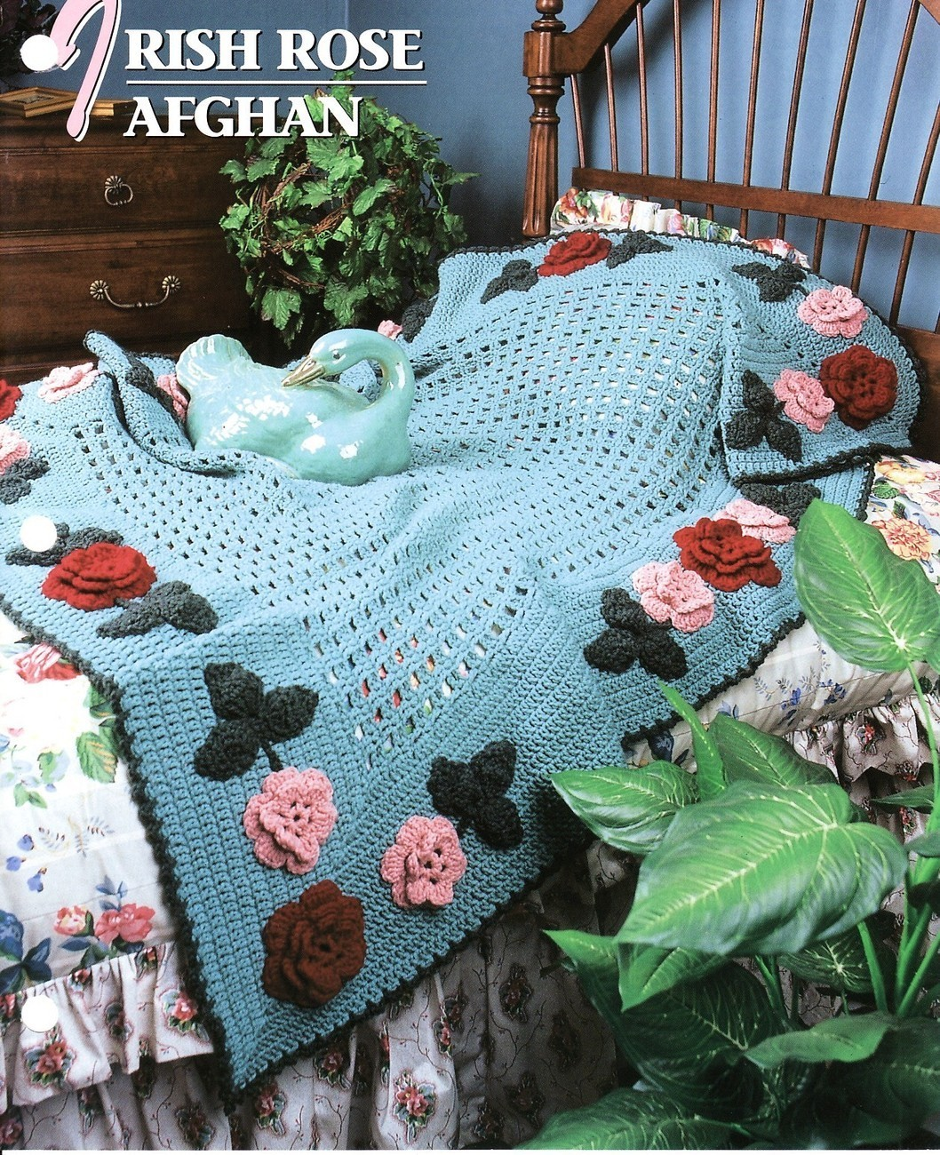 Crochet Pattern: Cabin Afghan - Associated Content from Yahoo
