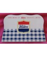 Vintage Needle Book Weston Bakeries Sewing Need... - $6.92