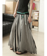 Simply Chic. Monochrome Chiffon Black And White... - $56.90