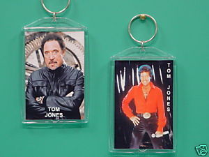 Tom Jones 2 Photo Designer Collectible Keychain 02