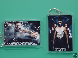 Wolverine Hugh Jackman 2 Photo Collectible Keychain