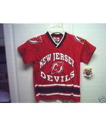 NEW JERSEY DEVILS NHL YOUTH LARGE (14-16) JERSE... - $12.99