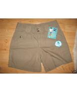 Ladies Lee RIDERS military Khaki Beige Metal Bu... - $8.99