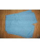 Marisa Christina Ladies Blue Check Dress Elasti... - $9.99