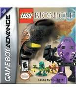 Lego Bionicle GBA Nintendo Game Boy Advance Gam... - $7.95