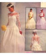 McCalls 8047 Wedding Dress Patern Size10 to 14 ... - $16.95