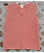 XL Christopher & Banks Orange Sweater Vest Shell - $5.00