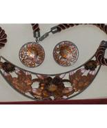 Cloisonne Enamel Necklace Set SITI - $24.97