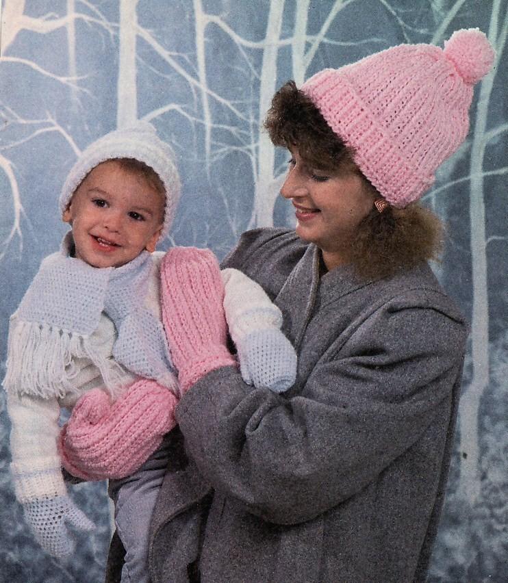 My Baby Mittens Free Crochet Pattern - Inner Child Crochet