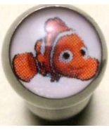 CLOWN FISH tongue ring Clownfish logo barbell, 14g - $4.99
