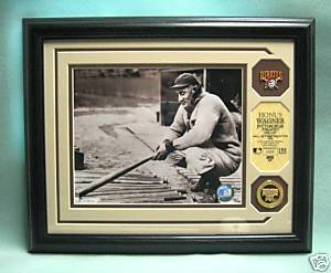 HONUS WAGNER, Pittsburgh Pirates, Ltd Edition PHOTOMINT
