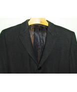 50's 60's Vintage Mod Men's Winter Coat Wool Ro... - $36.00