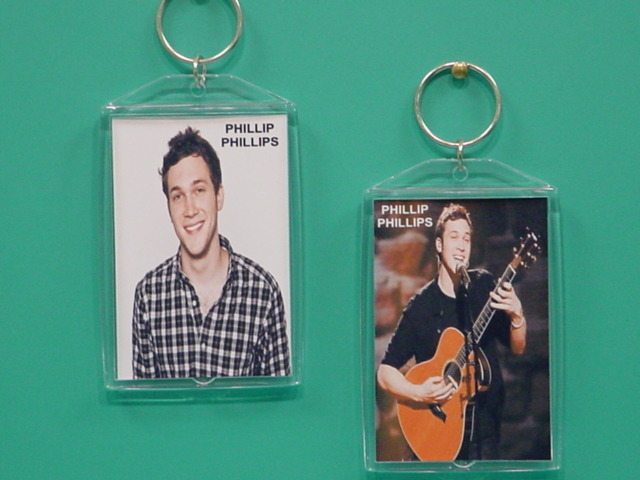 Phillip Phillips American Idol 2 Photo Designer Collectible Keychain