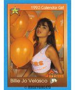 Billie Jo Velasco 1993 Hooters Calendar Girl Ca... - $2.00