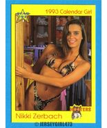 Nikki Zerbach 1993 Hooters Calendar Girl Card #32 - $2.00
