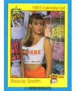 Stacie Smith 1993 Hooters Calendar Girl Card #92 - $2.00