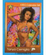 Tanya Cerniglia 1993 Hooters Calendar Girl Card #4 - $2.00