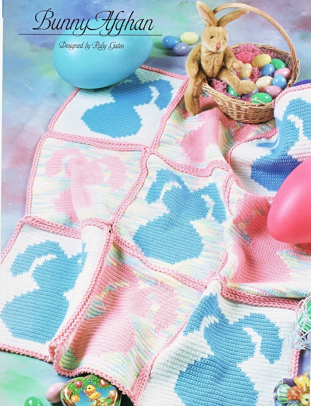 Easter bunnies and Spring lambs to knit and crochet: Part II - DIY
