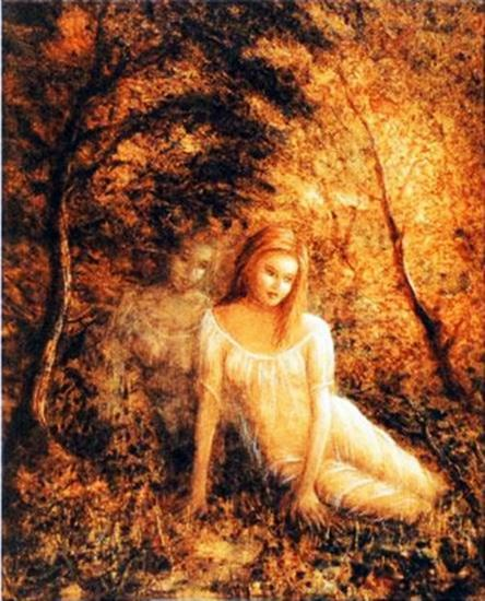 FOREST ANGEL by RINA SUTZKEVER - Signed Ltd Ed Giclee