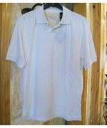 Nat Nast Men's One Button Polo, White, Size Sma... - $48.50
