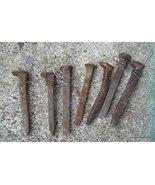 Railroad Spikes 7 Antique Primitive - $30.00