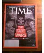 Time Magazine The Fact Wars Who is Telling The ... - $1.00