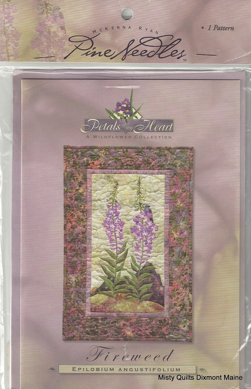 Wildflower Rhapsody BOM Monthly Charge - Quilt Fabric, Quilt