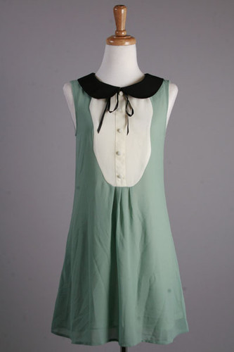 Vintage Style Wishful Thinking Green Dress