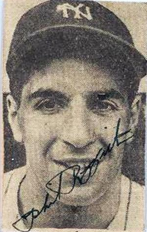 PHIL RIZZUTO SIGNED - AUTOGRAPHED YANKEES PHOTO - JSA
