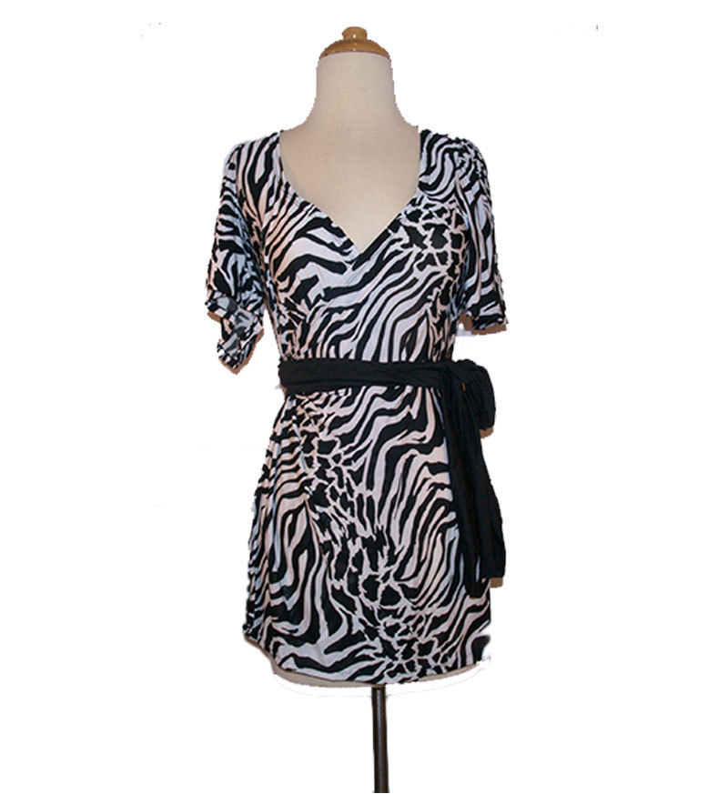 Zebra Animal Print Dress