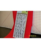 Inkadinkado clear cling acrylic stamps 37 Curly... - $12.99