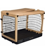 Deluxe Steel Dog Crate With Pad - Small - $140.33
