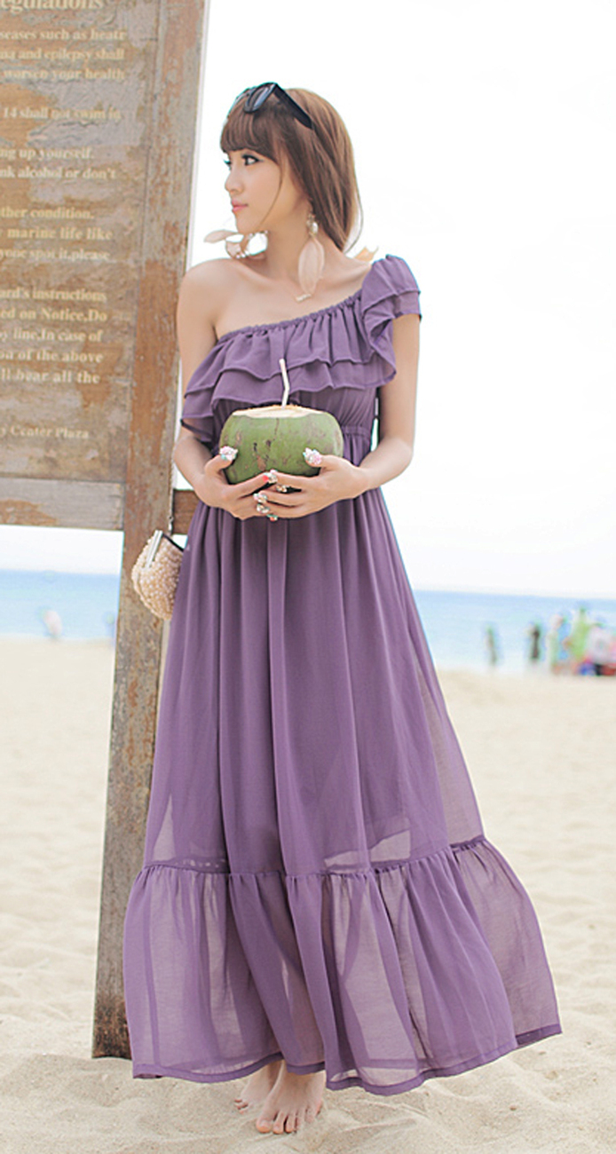 2012_spring_summer_chiffon_dress_maxi_ruffles_purple_length_copy