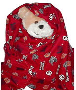 OU Boomer Sooners Flannel Toddler Baby Blanket,... - $12.95