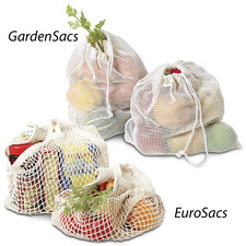 Grocery and Garden Bags Go Green Great for Farmers Market