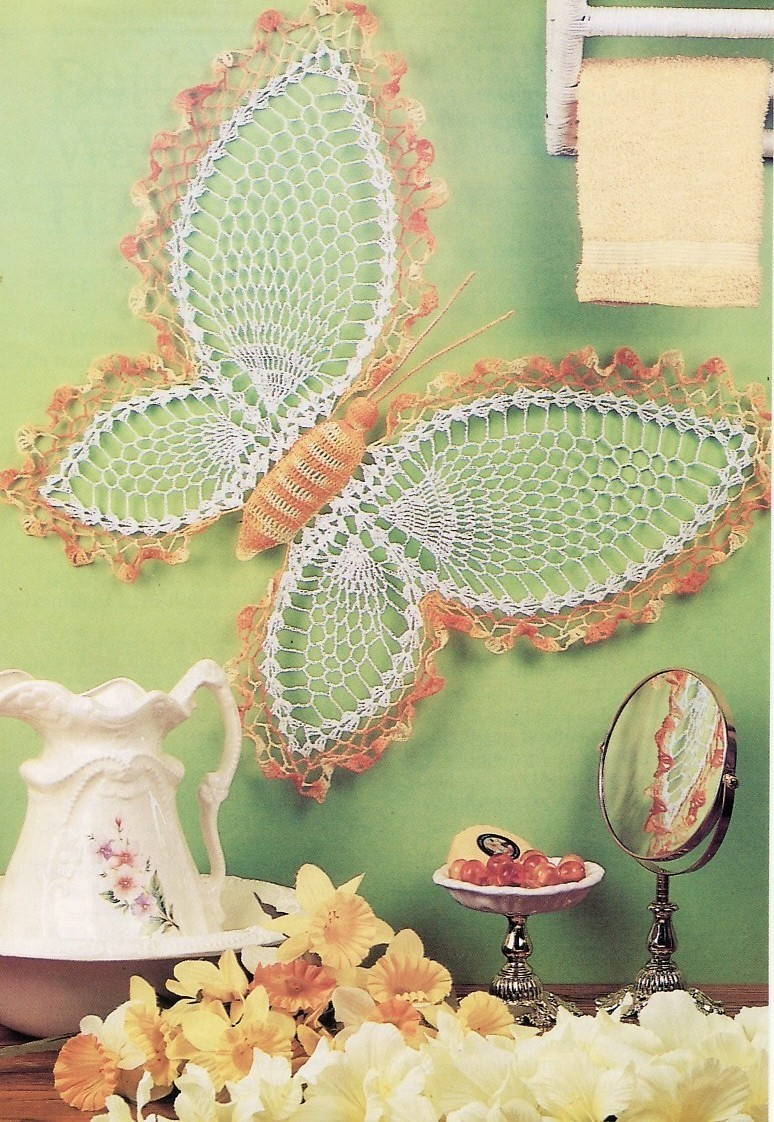 """Butterfly Pattern Crochet"" - Shopping.com"
