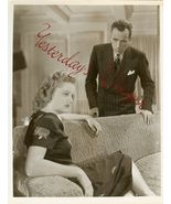 Humphrey Bogart Alexis Smith Conflict Org Photo... - $124.99
