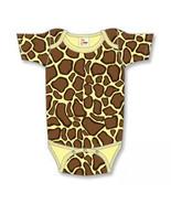 Newborn Giraffe Print Onesie Size 8-13 Pounds - $15.00